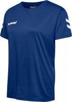 Hummel Core T-Shirt blau Damen
